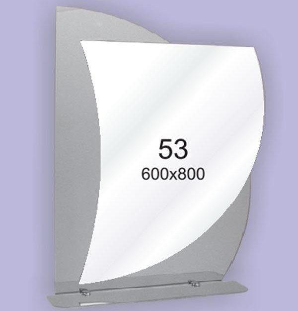 Зеркало для ванной комнаты F53 (600х800мм)