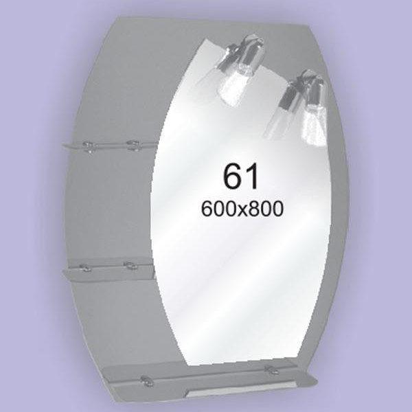 Зеркало для ванной комнаты F61 (600х800мм)