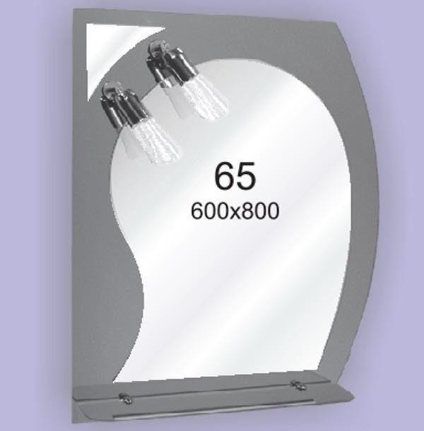 Зеркало для ванной комнаты F65 (600х800мм)