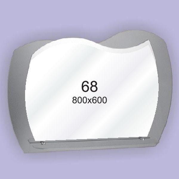 Зеркало для ванной комнаты F68 (800х600мм)