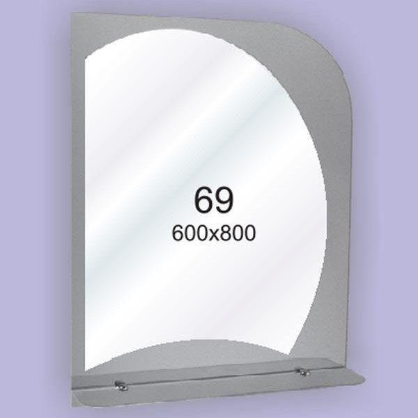 Зеркало для ванной комнаты F69 (600х800мм)