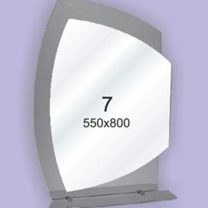Зеркало для ванной комнаты F7 (550х800мм)