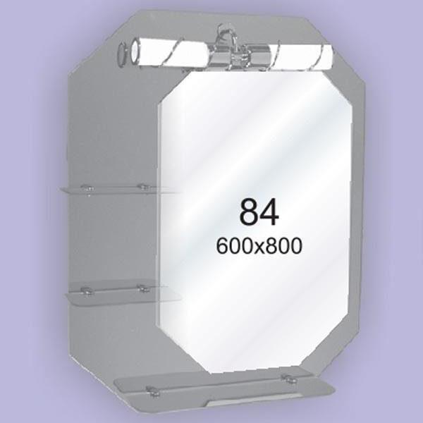 Зеркало для ванной комнаты F84 (600х800мм)