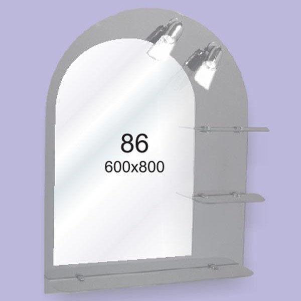 Зеркало для ванной комнаты F86 (600х800мм)