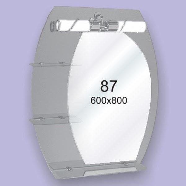 Зеркало для ванной комнаты F87 (600х800мм)