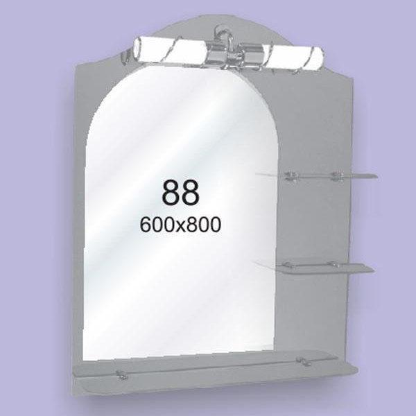 Зеркало для ванной комнаты F88 (600х800мм)