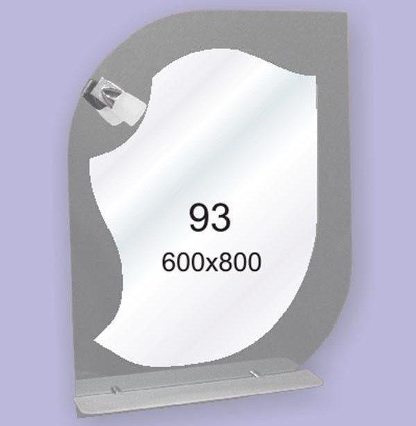 Зеркало для ванной комнаты F93 (600х800мм)