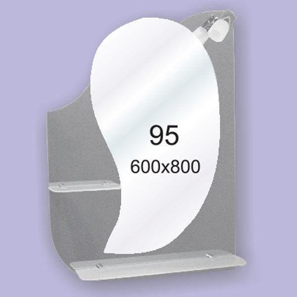 Зеркало для ванной комнаты F95 (600х800мм)