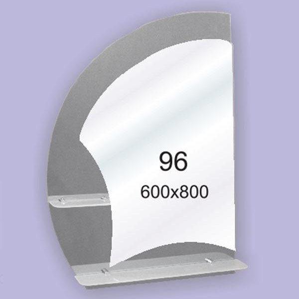 Зеркало для ванной комнаты F96 (600х800мм)