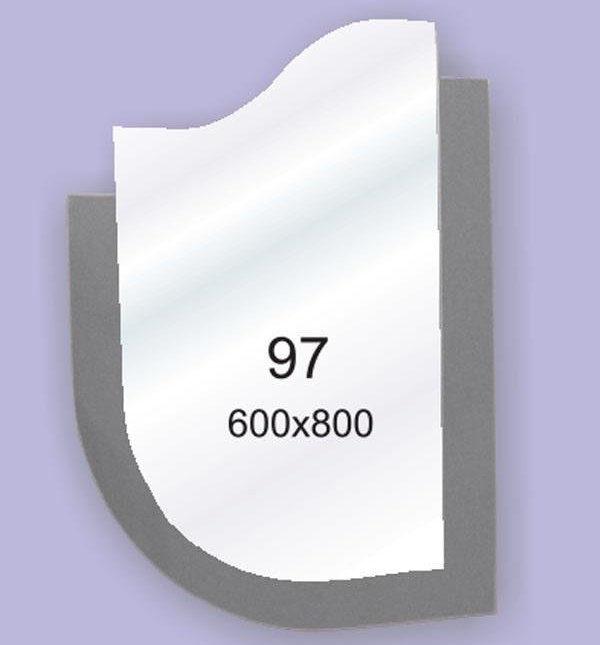 Зеркало для ванной комнаты F97 (600х800мм)