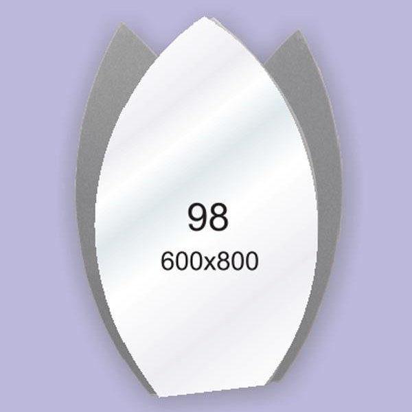 Зеркало для ванной комнаты F98 (600х800мм)