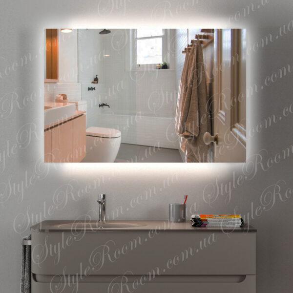 Зеркало с контурной Led подсветкой K-05 (1000x800мм)1