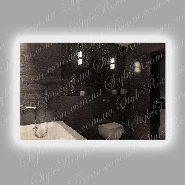 Зеркало с контурной Led подсветкой K-06 (1200x800мм)