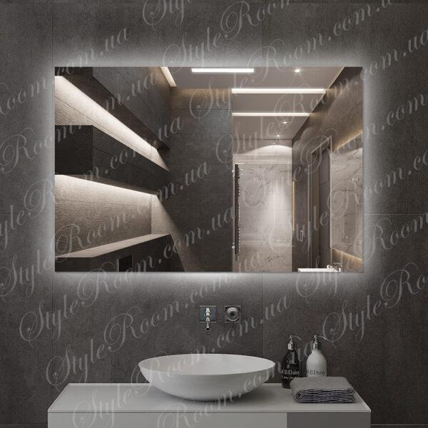 Зеркало с контурной Led подсветкой K-06 (1200x800мм)1