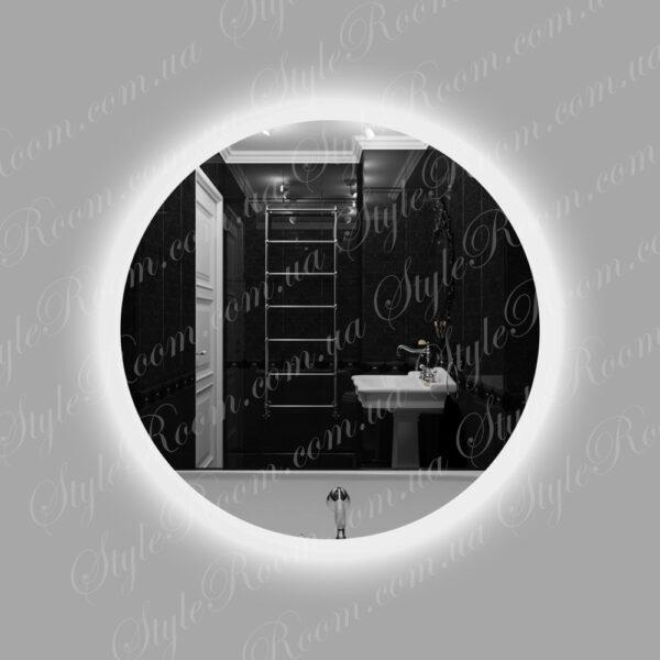 Зеркало с контурной Led подсветкой Kr-01 (600x600мм)