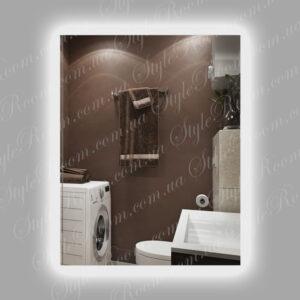 Зеркало с контурной Led подсветкой K 01 (600x800мм)