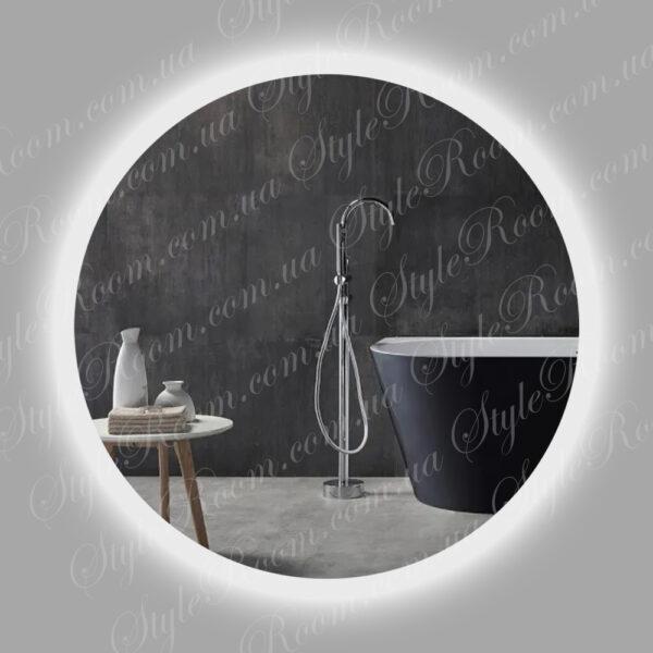 Зеркало с контурной Led подсветкой Kr-03 (800x800мм)
