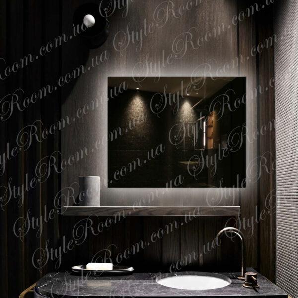 Зеркало с контурной Led подсветкой K-04 (900x700мм)1
